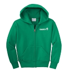 Port & Company - Youth Core Fleece Full-Zip Hooded Sweatshirt