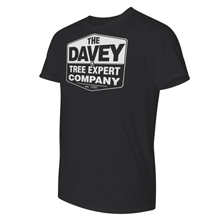 Mens Davey Black Performance T-Shirt