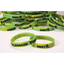 Celebrate Trees Silicone Bracelet (25 Pack)