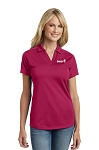 Custom Ladies Port Authority Diamond Jacquard Polo