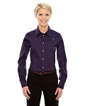 Custom Ladies Devon & Jones Stretch Twill Shirt