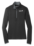 Ladies' Nike Dri-FIT Stretch 1/2-Zip Cover-Up