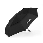 "54"" Windjammer Black Umbrella"
