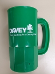 14oz Green Plastic Beverage Stein - WSL