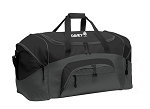Port Authority® - Black Colorblock Sport Duffel
