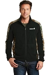 Port Authority Men's Camouflage Microfleece Full-Zip Jacket